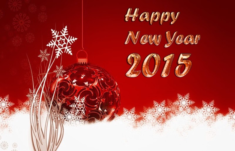 Happy New Year Wishes Cards 2015 Christmas Greetings Images