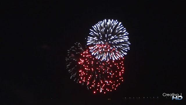 fuegos artificiales, feria cordoba, 2012, fireworks, fullhd, Creativo J, Torre de la Calahorra
