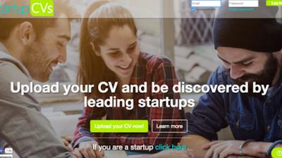 شارك سيرتك الذاتية الـCV مع الشركات الناشئة لفرص عمل أكبر