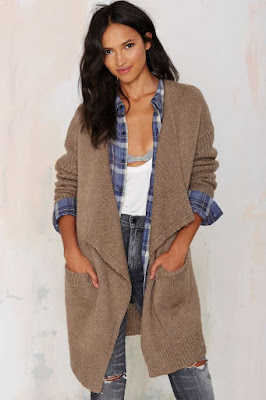 WARMING UP DRAPE CARDIGAN NASTY GAL