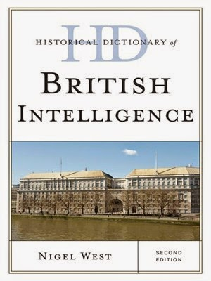 Cover image of Historical Dictionary of British Intelligence by Nigel West.