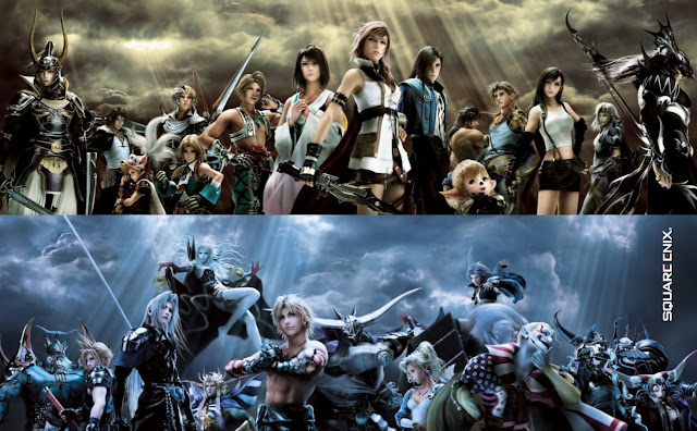 final fantasy dissida 012 square enix jrpg japanese role playing game