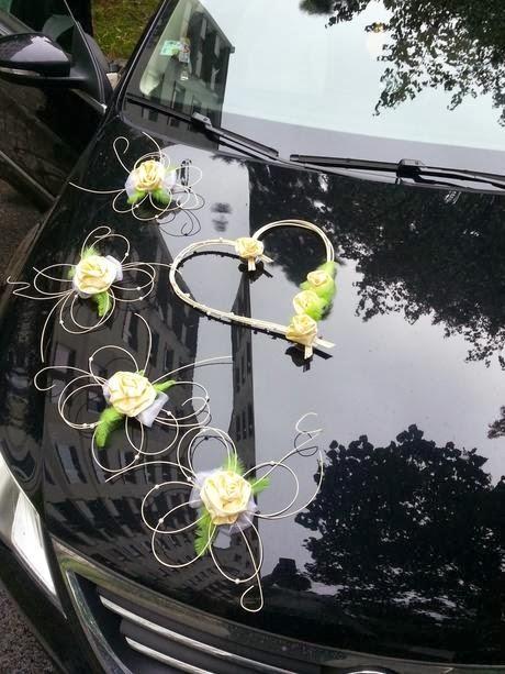 Flower Wedding Car Decorations : Wedding car flower decoration bridal requirements