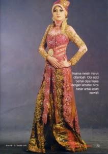 Foto Model Baju Kebaya Lengan Panjang