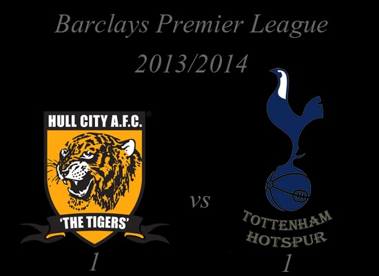 Hull City vs Tottenham Hotspur Barclays Premier League February 2014