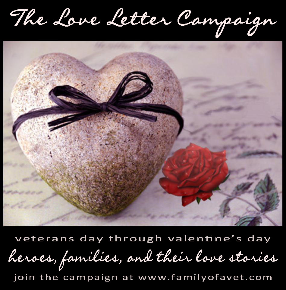 Family of a vet ptsd tbi life after combat the love letter today on veterans day and ending on valentines day were launching the second annual love letter campaign a campaign to encourage those who love a aljukfo Gallery