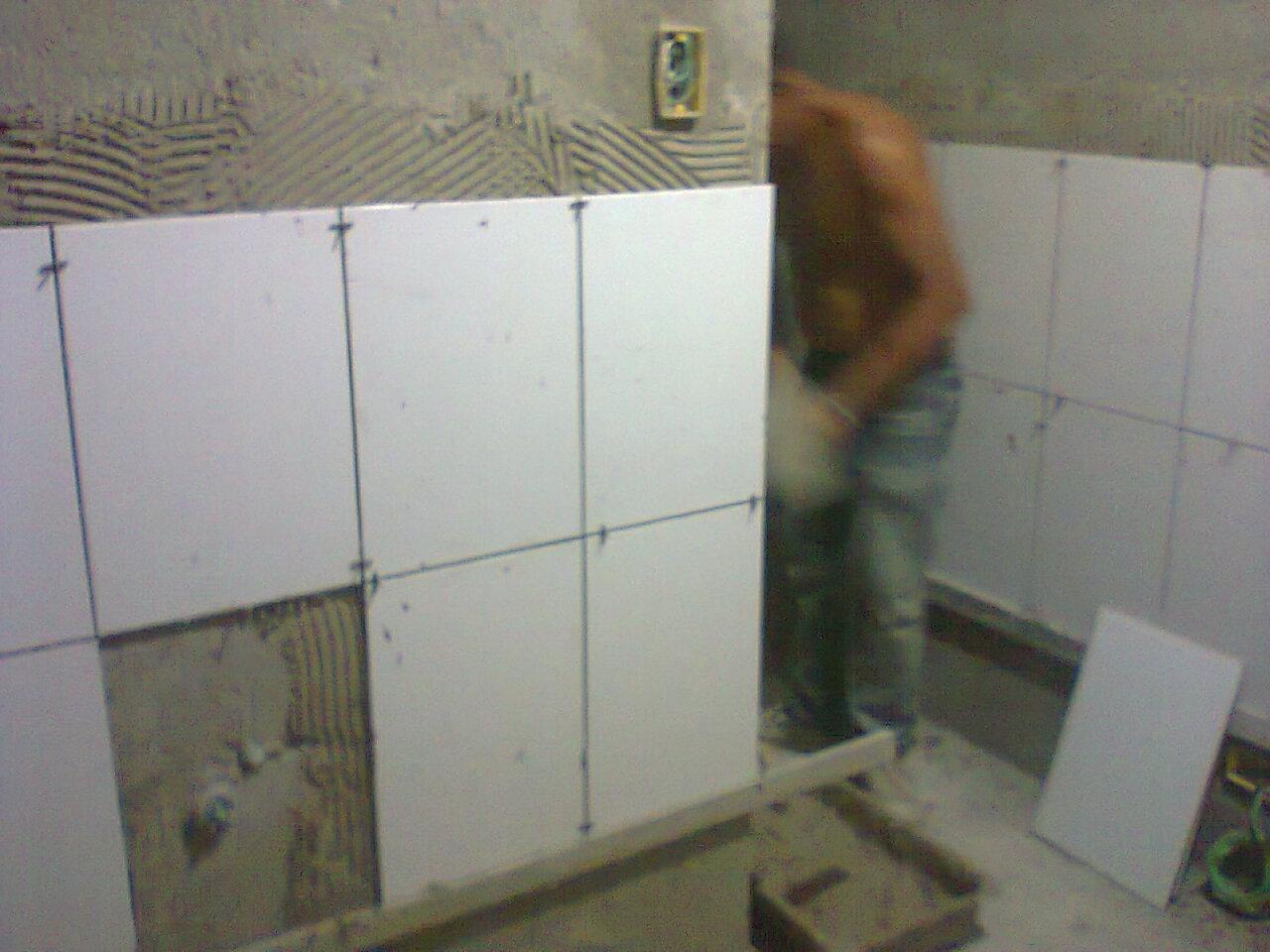 CASA R&W: Revestimento e piso do banheiro da suite #5F4D3C 1280x960 Banheiro Com Revestimento E Grafiato