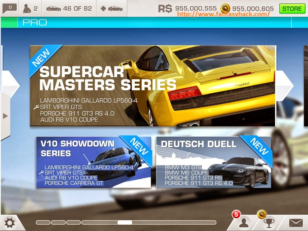 Real Racing 3 Game Hack V2.1