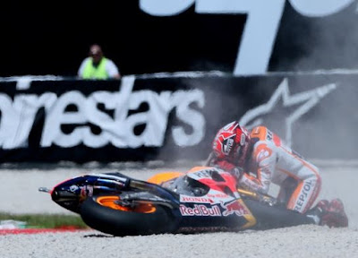 Marquez di Mugello, Start O.K, Finis K.O