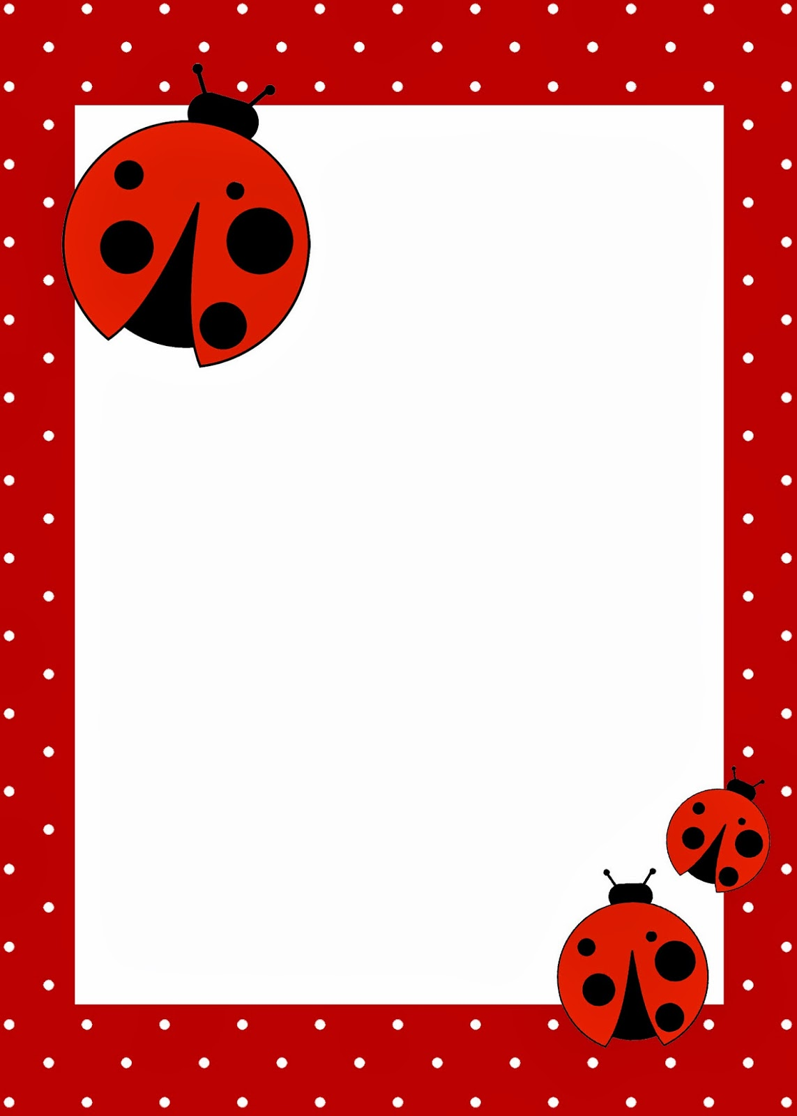 Ladybug Invite with amazing invitations template