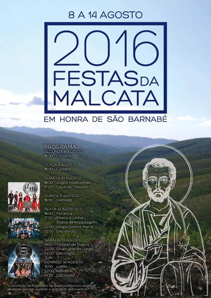 FESTAS DE MALCATA 2016