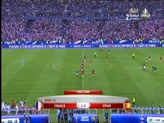 اهداف مباراة فرنسا واسبانيا 1 - 0 مباراة ودية 4-9-2014