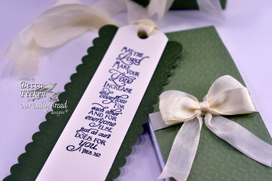 our daily bread designs stamps, Scripture Bookmarks, designed by Becca Feeken