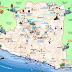 peta pariwisata gunung kidul - jogja