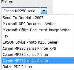 Cara Mencetak Photo Ukuran Poster Menggunakan Printer Canon MP 258