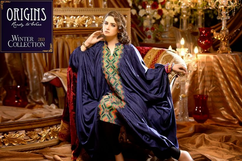 Origins Formal Wear Winter Collection 2014 For Women And Girls