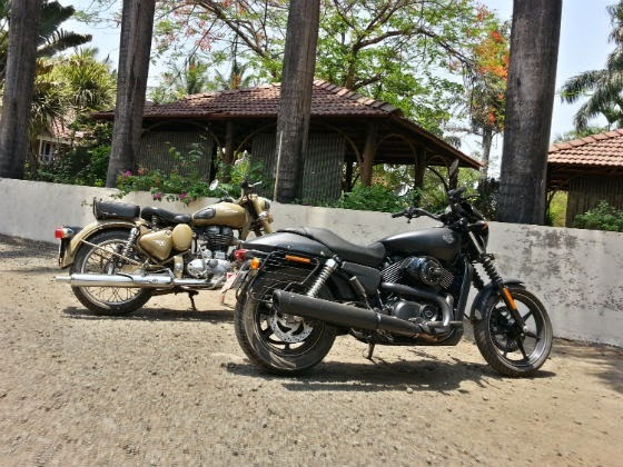 royal enfield vs harley davidson