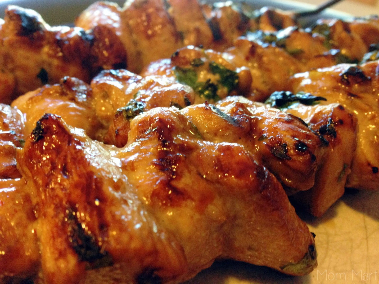 Cilantro Chicken Skewers Recipe #Dinner #Chicken #Recipe