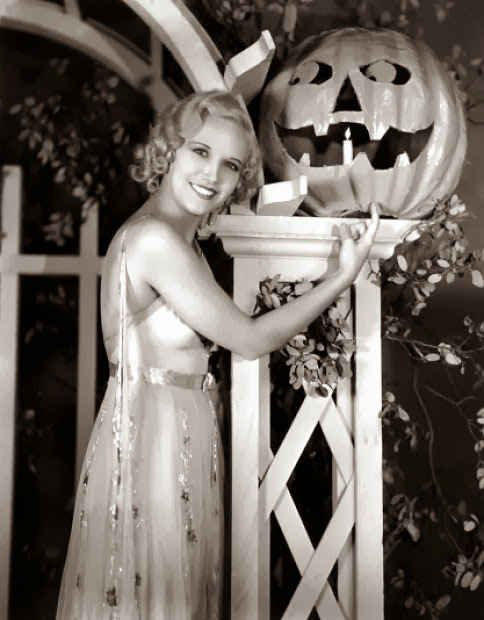Old Hollywood Halloween Glamour Joyce Holden