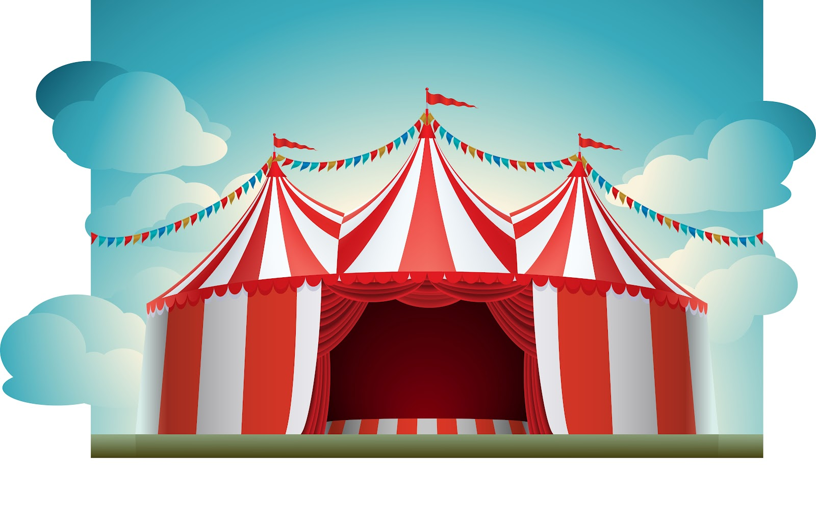 Open Circus Tent This ...