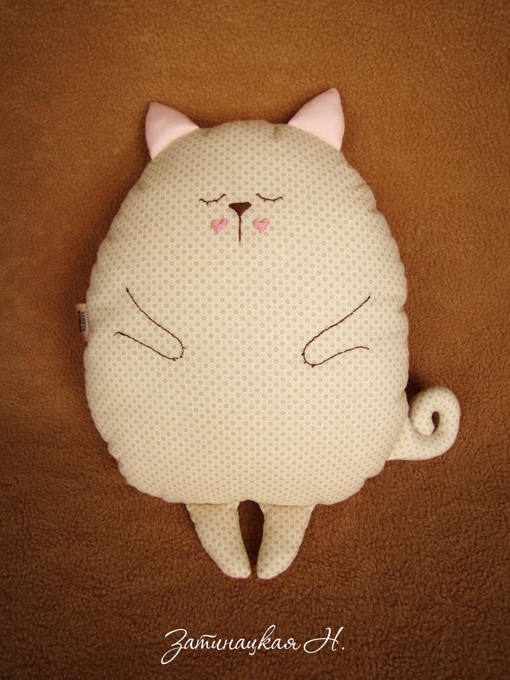 Подушки для кота своими руками