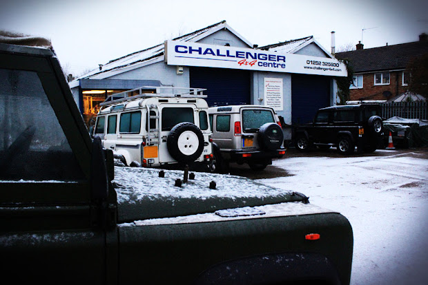 Land Rover Winter Products