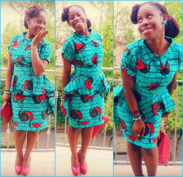 Fleekglobe Stunning African Print Skirt Blouse Styles