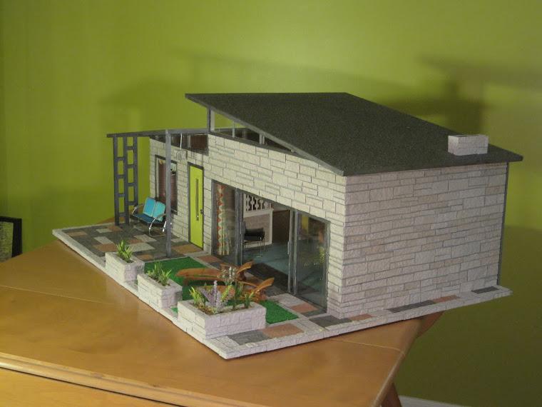 Mini Mod Pod Modern Lego Homes