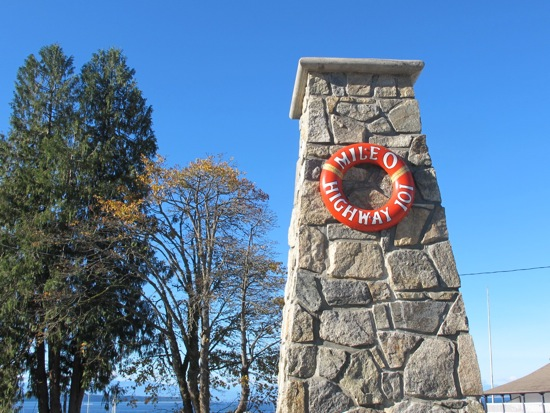 Lund, BC: Sunshine Coast town is Mile 0 of Pacific Coastal Highway