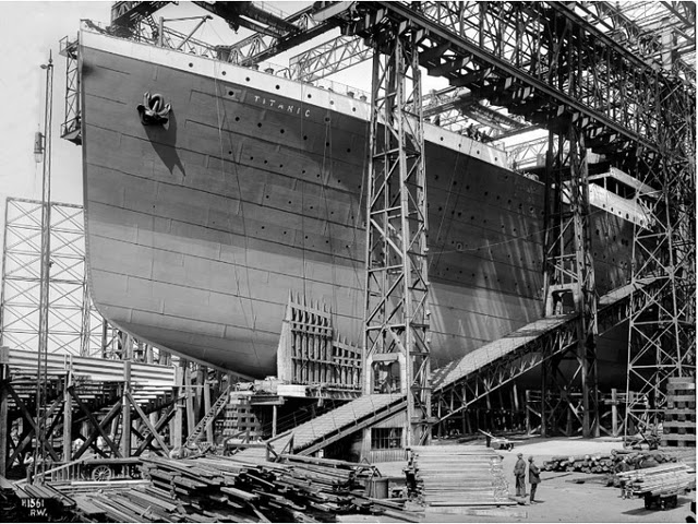 El retronauta julio 2011 - Construccion del titanic ...