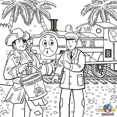 Sea pirate GWR Duck tank Thomas coloring pages for teenagers printable worksheets online art classes