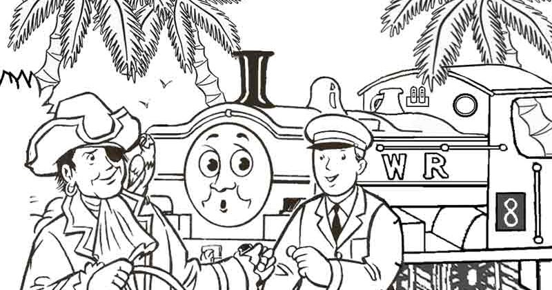 Thomas Coloring Pages For Teenagers