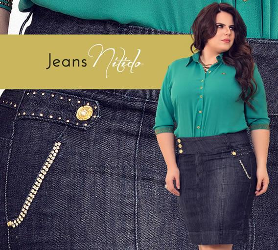 Jeans de Alto Verão 2016 da Nítido