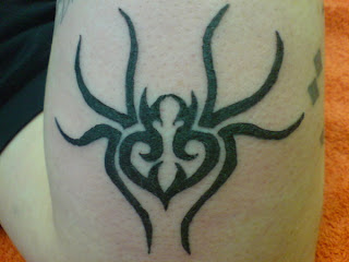 tribal spider tattoos - tribal spider tattoos picture