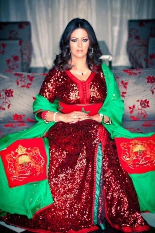 القفطان المغربي 2013 - موديلات جذابة للقفطان المغربي 2013