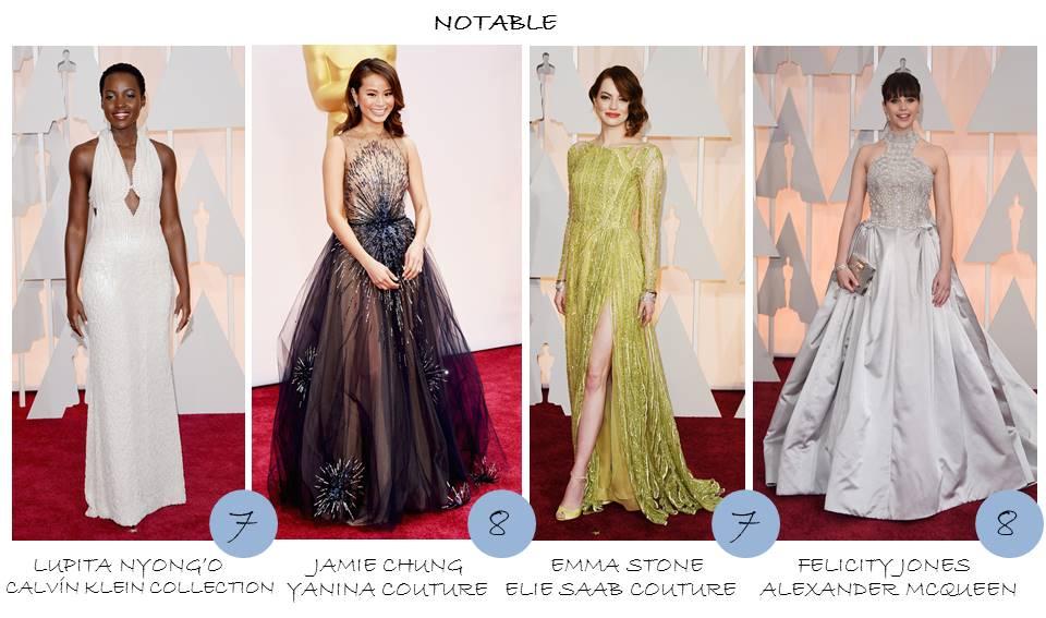 OnlyNess - Notable en la Alfombra roja Oscars 2015