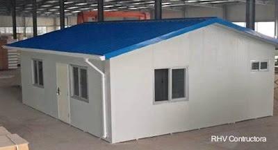Casa de bajo costo premoldeada