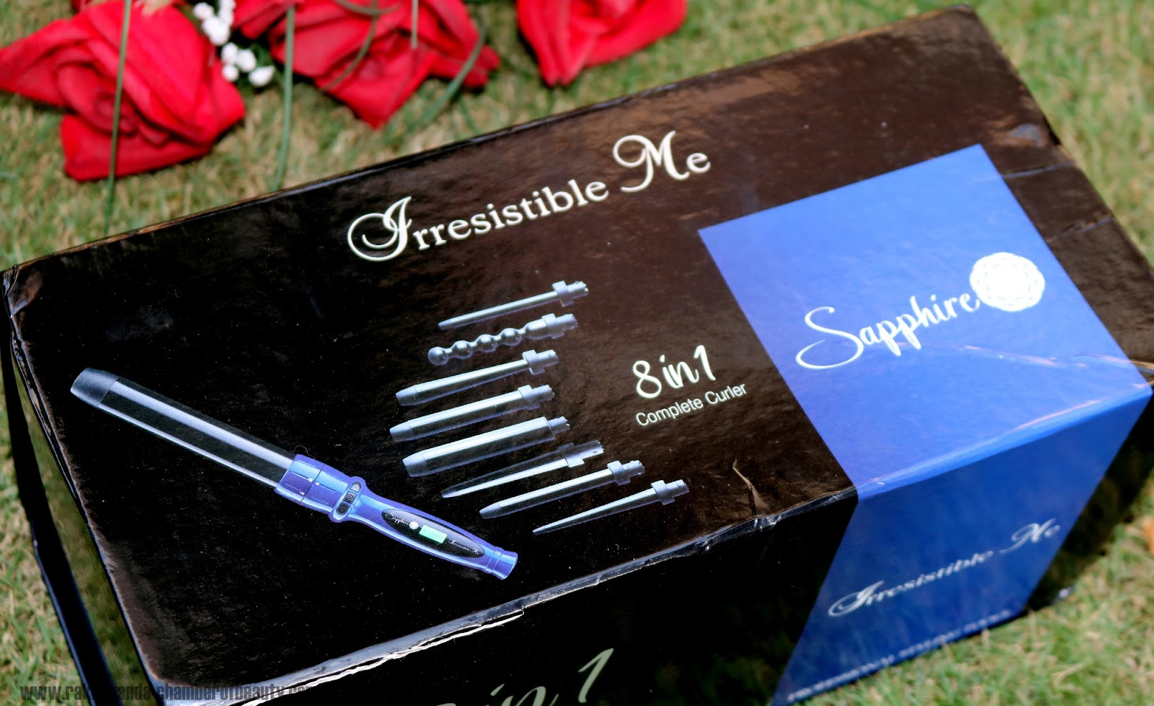 Irresistible Me Sapphire 8 in 1 complete curler- review