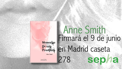 feria del libro madrid, anne smith, memorias de una prostituta