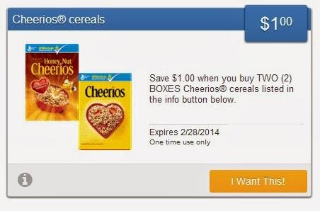 cvs deals cheerios just 75 cents per box. Black Bedroom Furniture Sets. Home Design Ideas