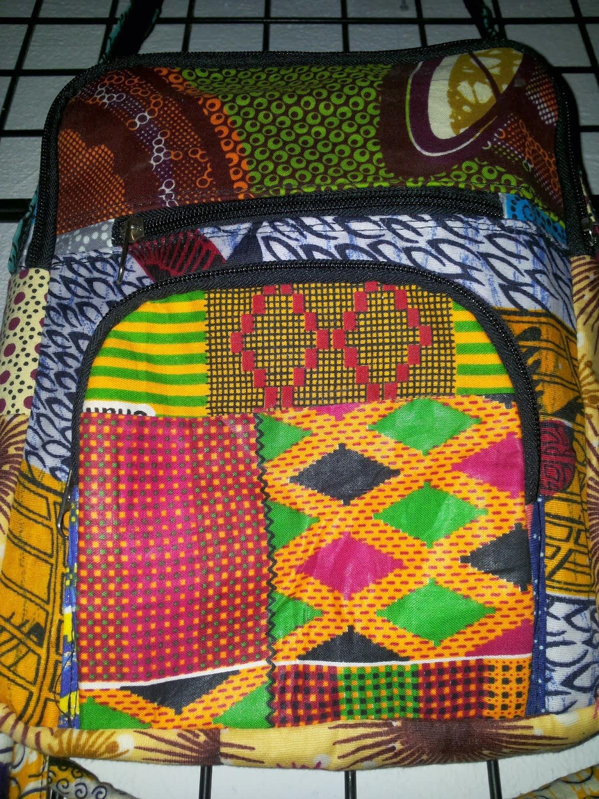 Akwaababcn bolsos y mochilas con telas africanas - Telas africanas barcelona ...
