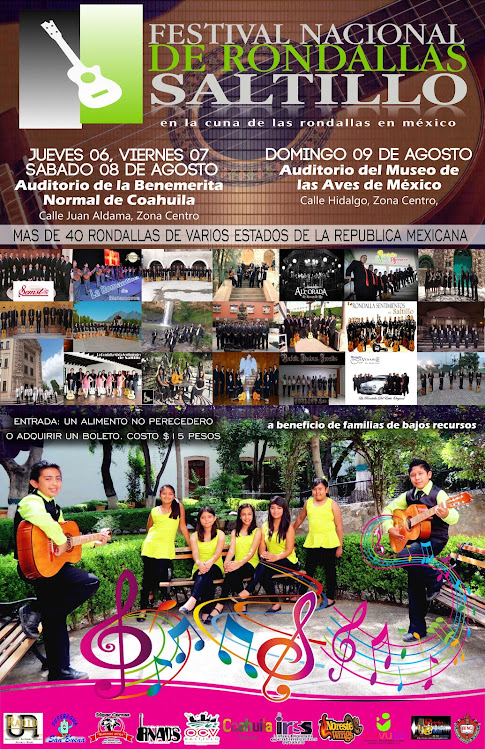 Festival Nacional de Rondallas de Saltillo