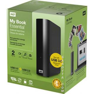 WD My Book Essential 2TB External Hardisk by SANDYTACOM