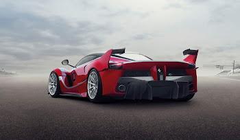 V12 Motora Sahip Hybrid Ferrari FXX-K HD Resimleri