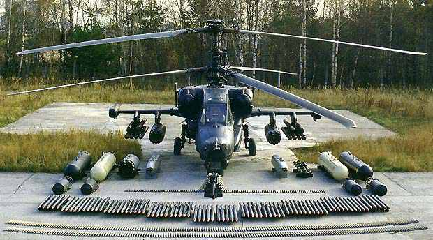 Ka-50 Russian Army's Attack Helicopter