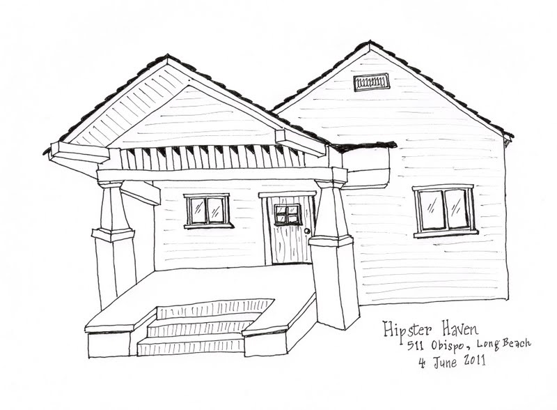 How to draw floating house page 2 for Beach house drawing