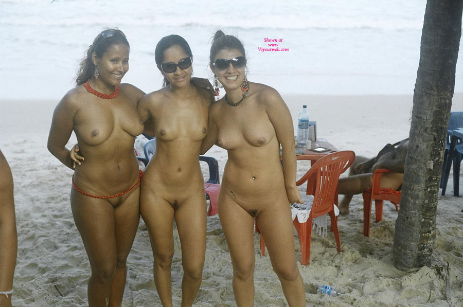 Brazil hot women nude beach