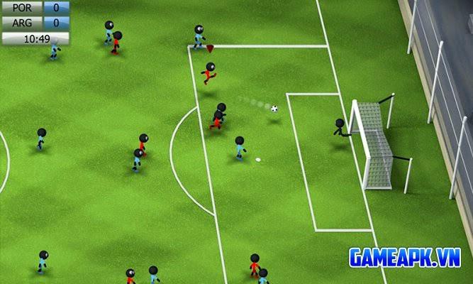 Stickman Soccer 2014 v1.6 hack full cho Android
