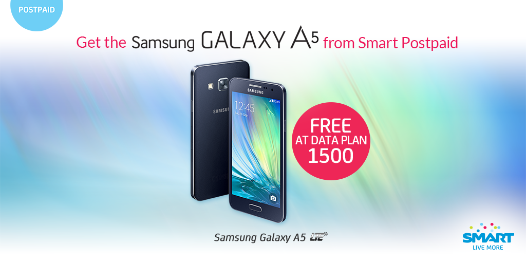 Smart Galaxy A5, Samsung Galaxy A5 Smart Postpaid