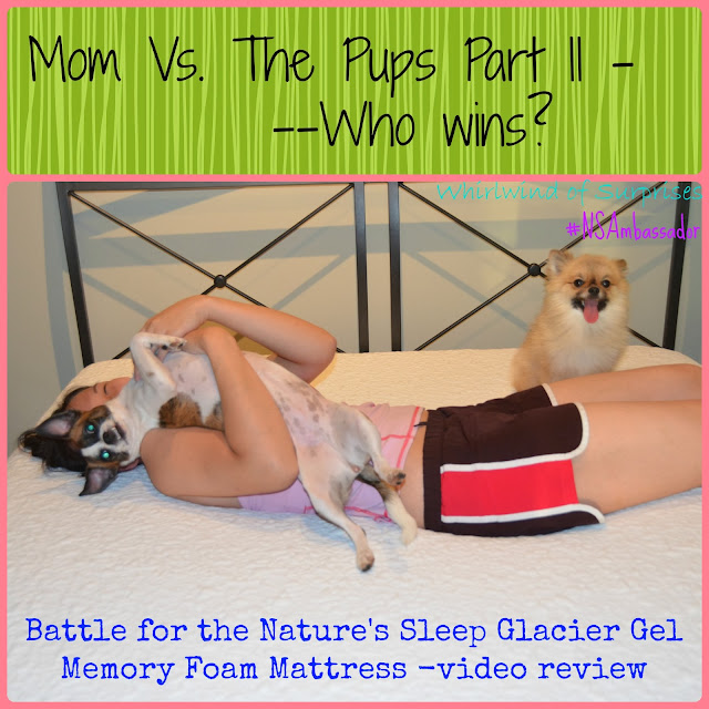Nature's Sleep Glacier Gel Memory Foam Mattress video review, #NSAmbassador